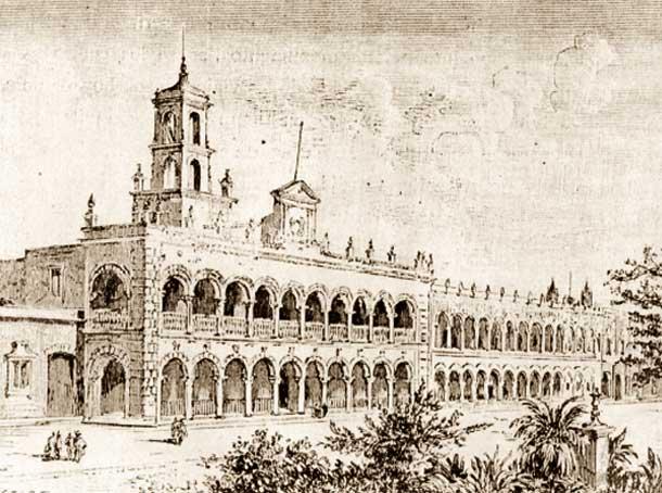 EL PALACIO MUNICIPAL DE MÉRIDA YUCATÁN