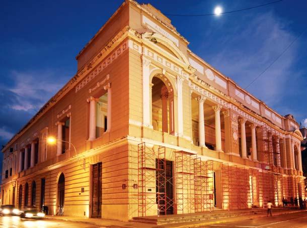 Teatro Peón Contreras en la actualidad