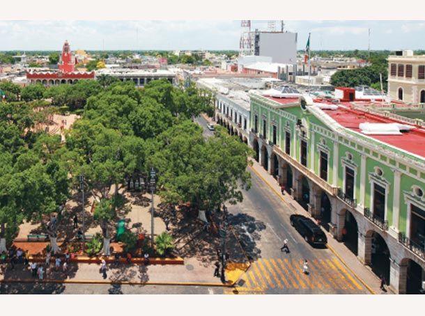 Plaza Principal en la actualidad