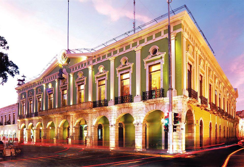 3-PalacioGobierno, edificios coloniales de Mérida