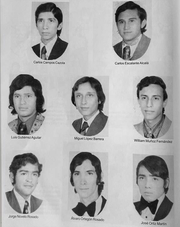 ÁLBUM DE FAMILIA: BACHILLERES DE LA ESCUELA MODELO 1974