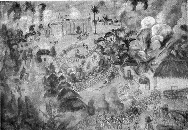 La Guerra de Castas de Yucatán.