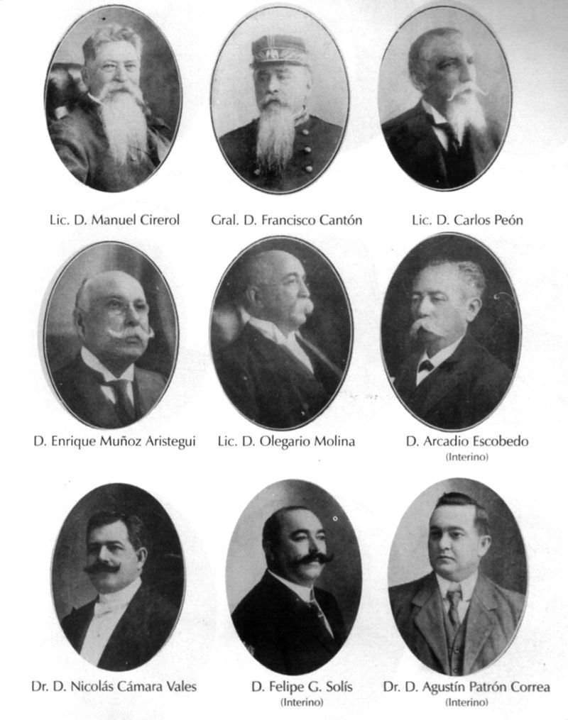 ÁLBUM DE FAMILIA: GOBERNADORES DE YUCATÁN DEL SIGLO XIX Y PRINCIPIOS DEL SIGLO XX