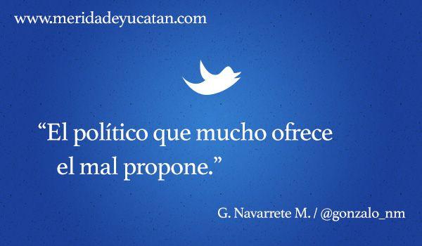 TUITS por Gonzalo Navarrete Muñoz