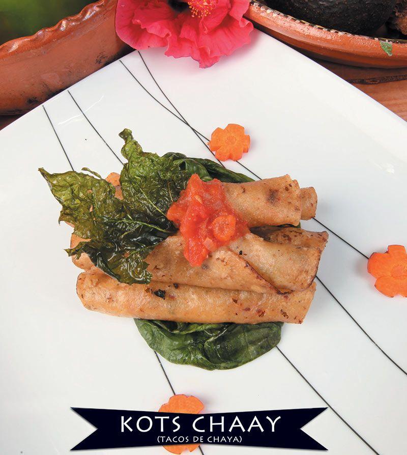 KOTS CHAAY – RECETAS MAYAS