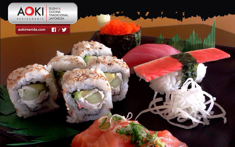 2. Restaurante japonés Aoki. Los 15 mejores restaurantes de Mérida 2015