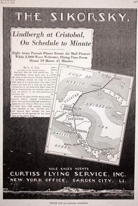 Lindbergh en México