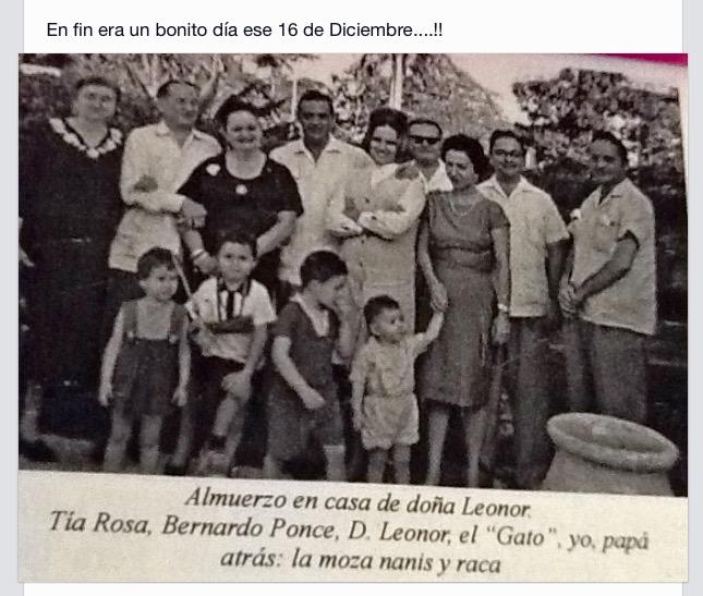 CUMPLEAÑOS DE DOÑA LEONOR PONCE DE CASARES