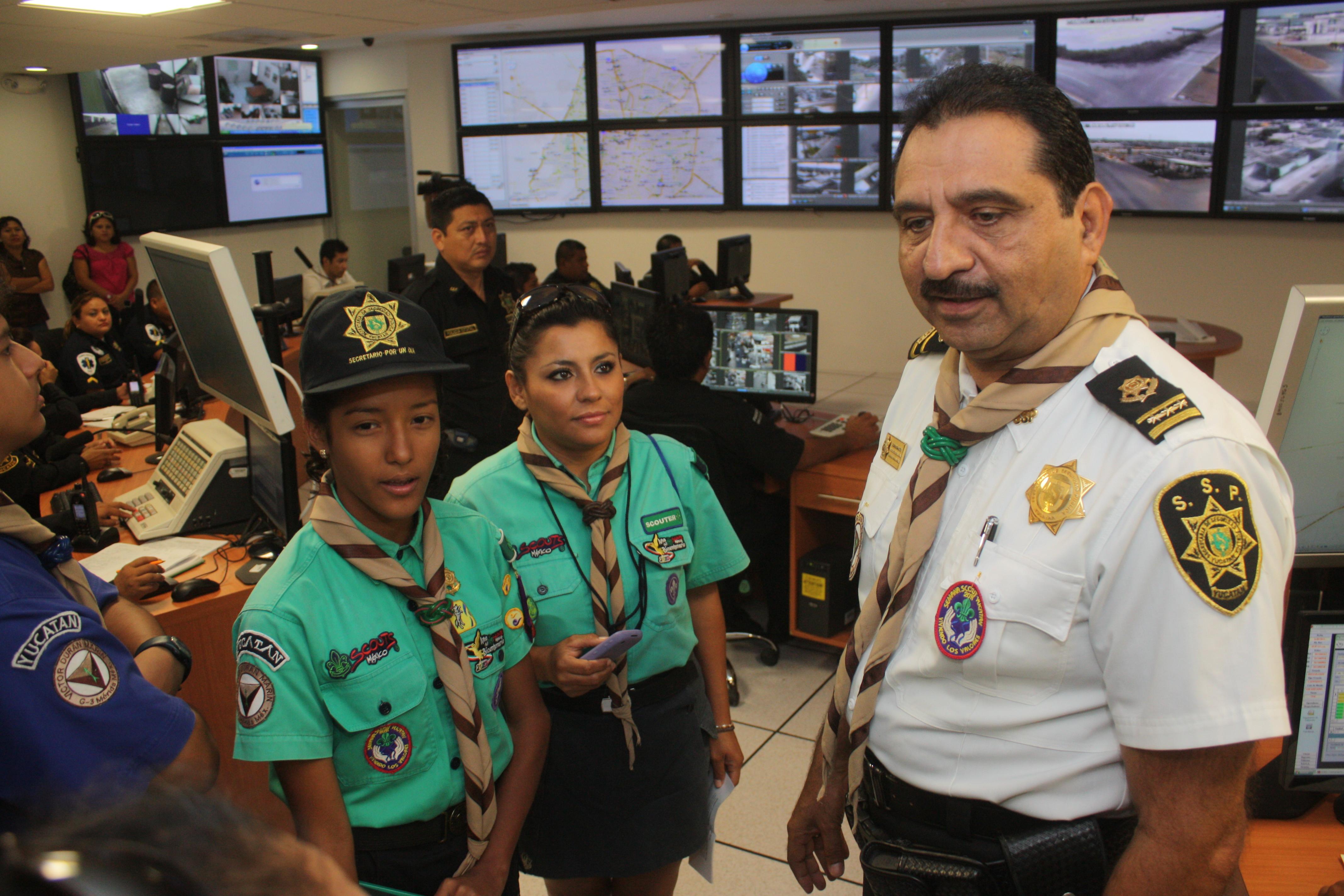 LOS BOYS SCOUT EN YUCATÁN
