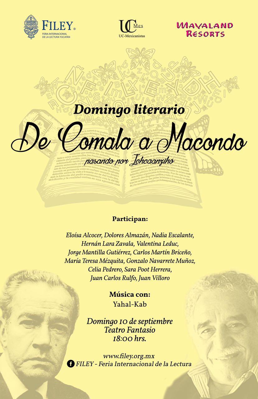 INVITACIÓN A DOMINGO LITERARIO