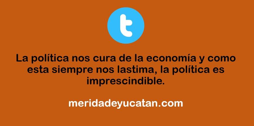 LA POLÍTICA NOS CURA DE LA ECONOMÍA
