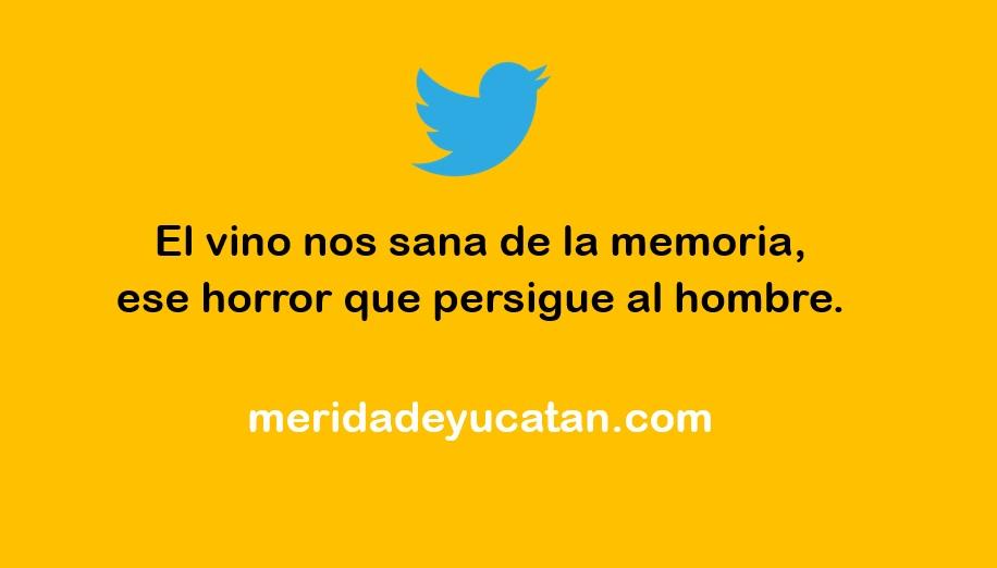 EL VINO NOS SANA DE LA MEMORIA