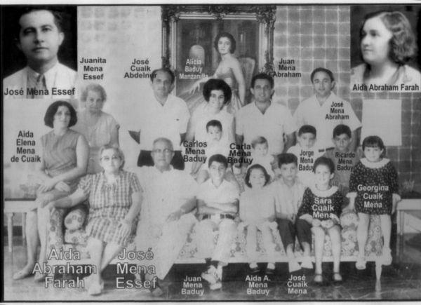FAMILIA MENA ABRAHAM