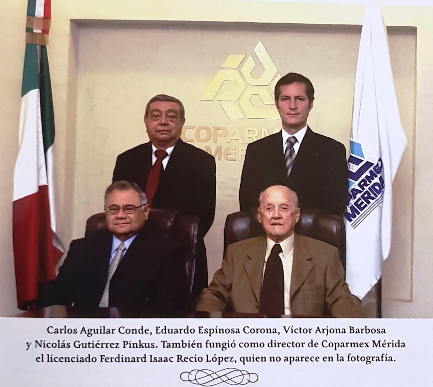 DIRECTORES DE COPARMEX MÉRIDA