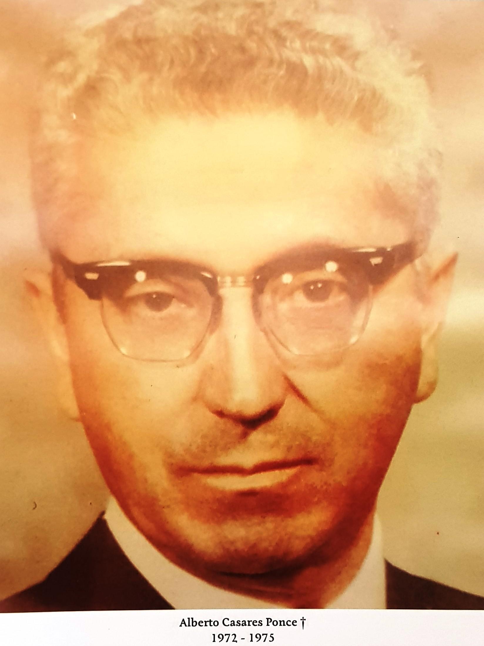 PRESIDENTE DE COPARMEX SR. ALBERTO CASARES PONCE