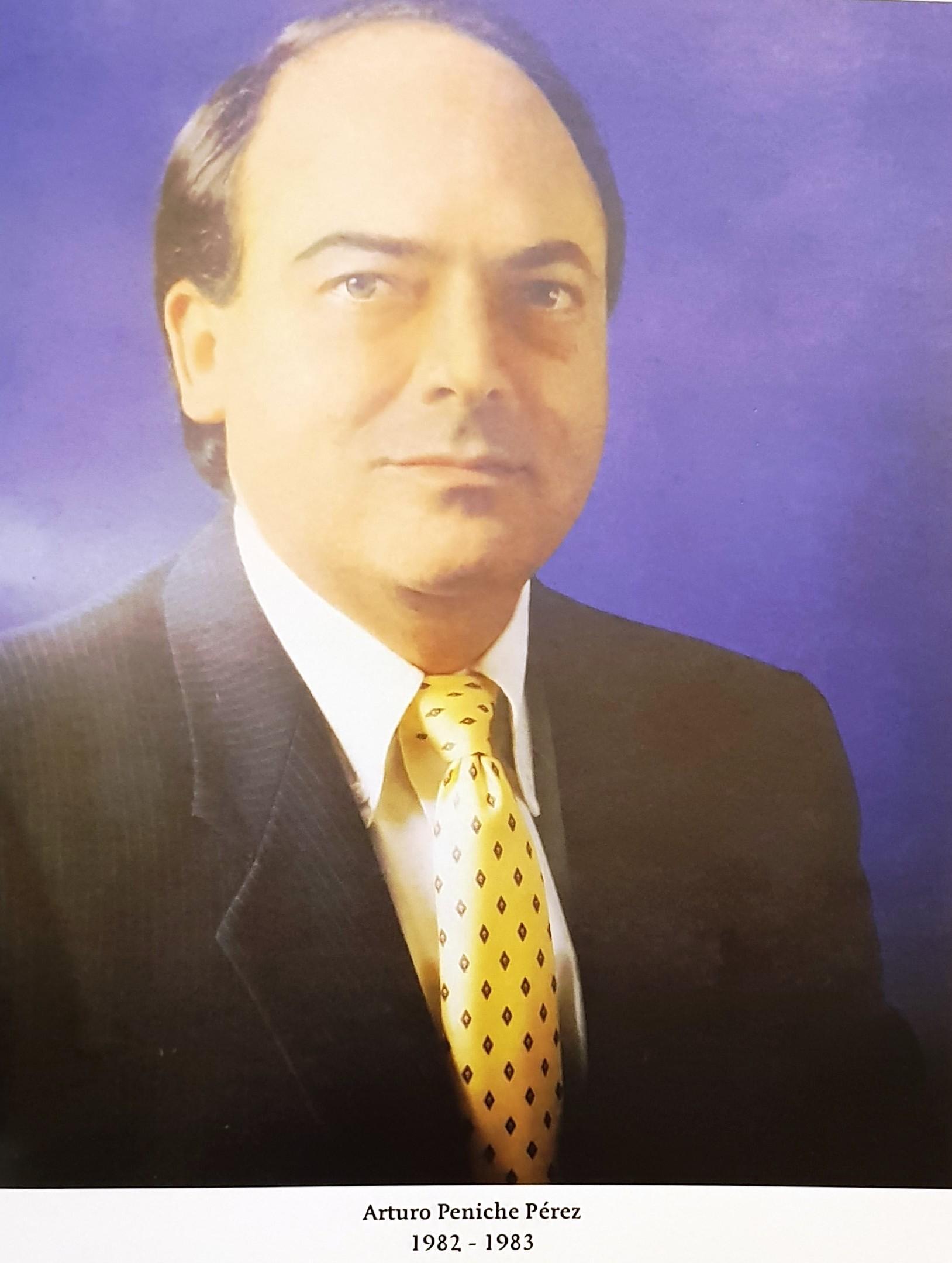 PRESIDENTE DE COPARMEX SR. ARTURO PENICHE PERÉZ