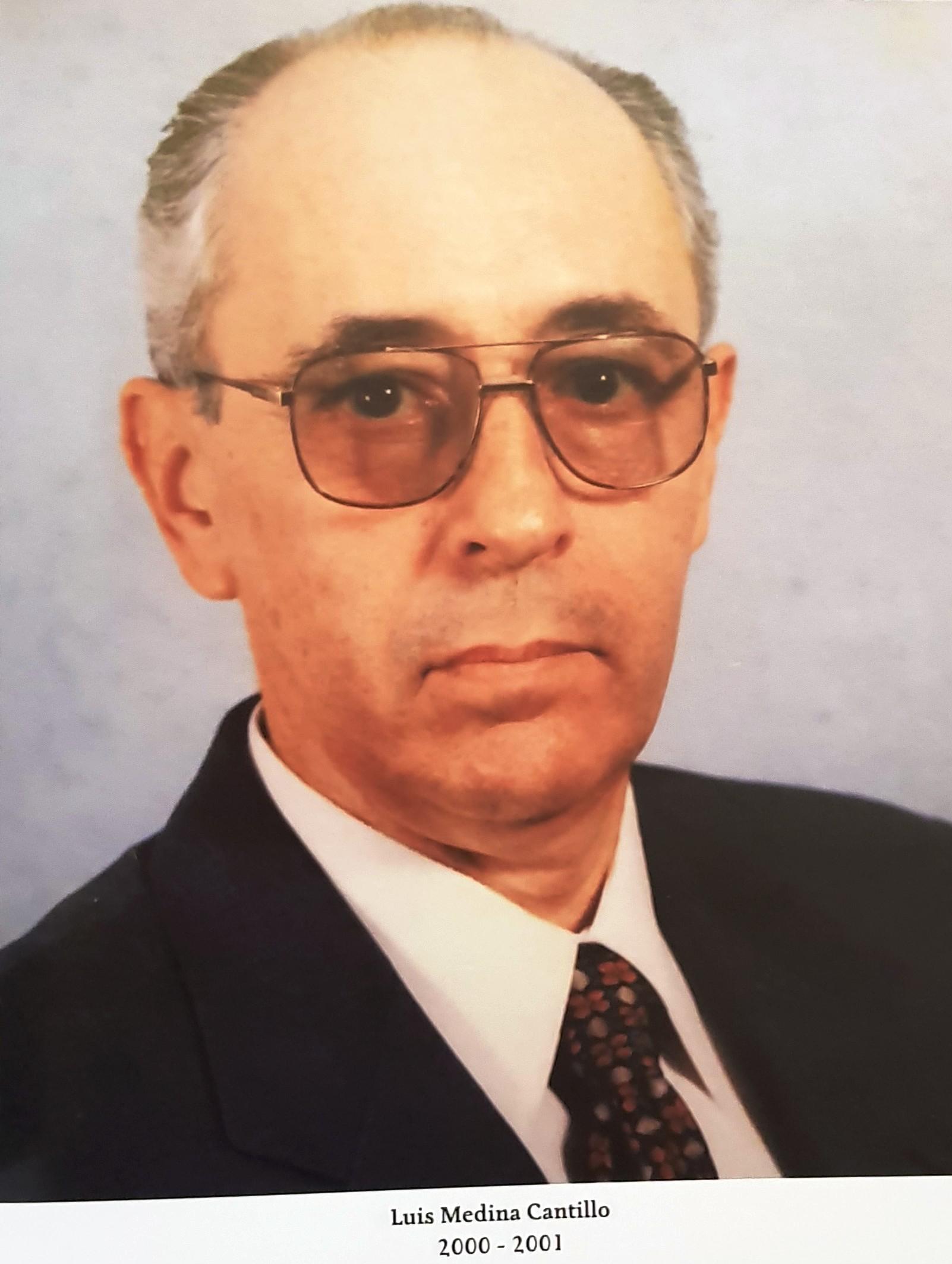 PRESIDENTE DE COPARMEX SR. LUIS MEDINA CANTILLO