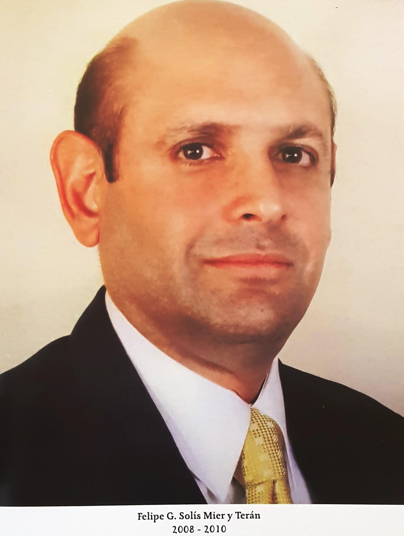 PRESIDENTE DE COPARMEX SR. FELIPE  G. SOLIS MIER Y TERÁN