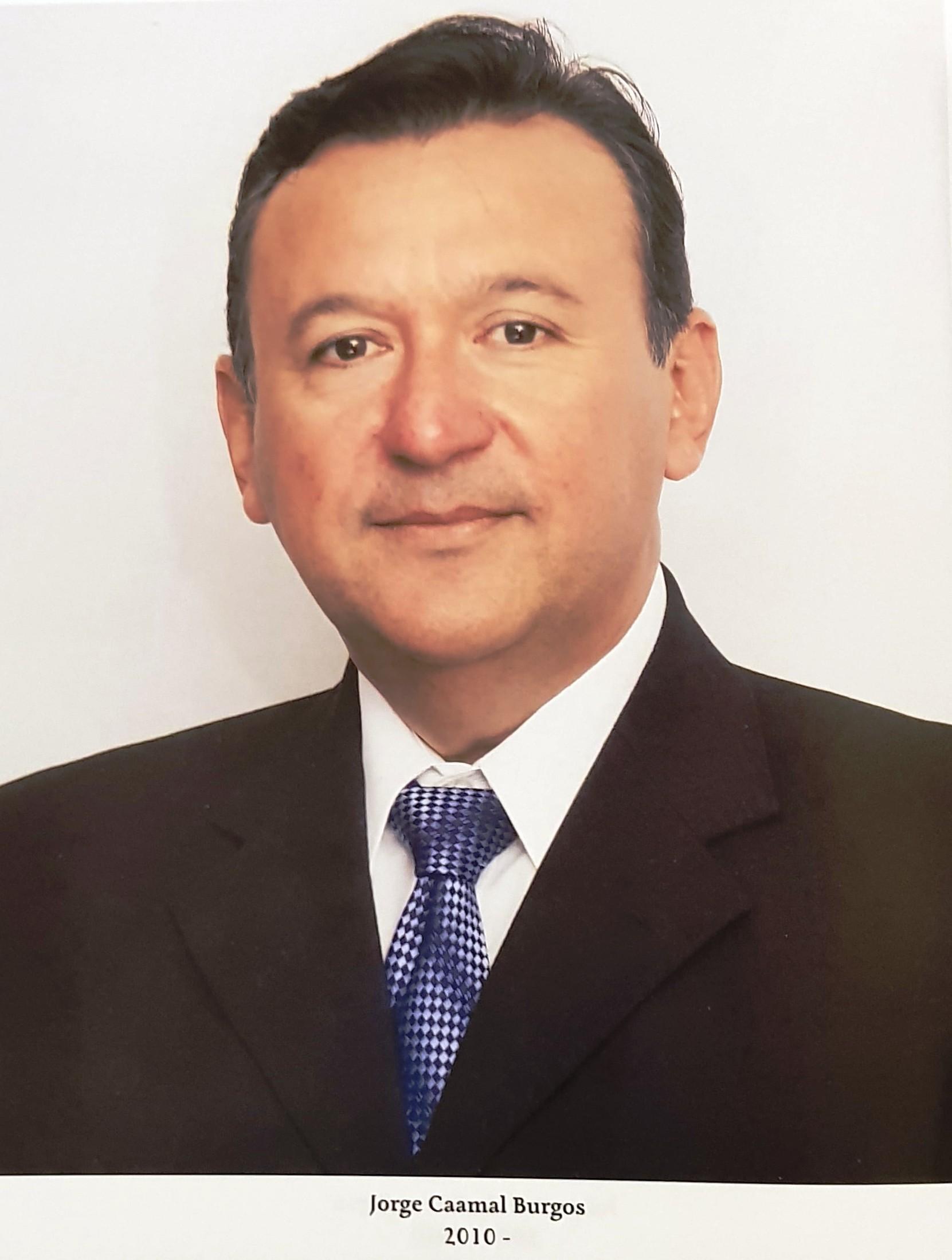 PRESIDENTE DE COPARMEX ING. JORGE  CAAMAL BURGOS