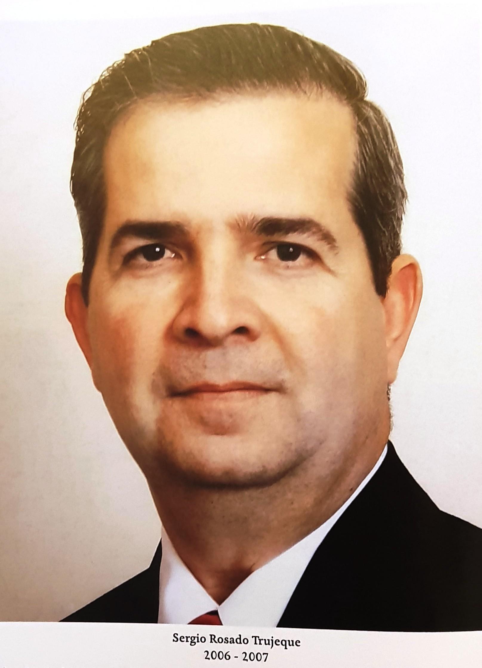 PRESIDENTE DE COPARMEX SR. SERGIO ROSADO TRUJEQUE
