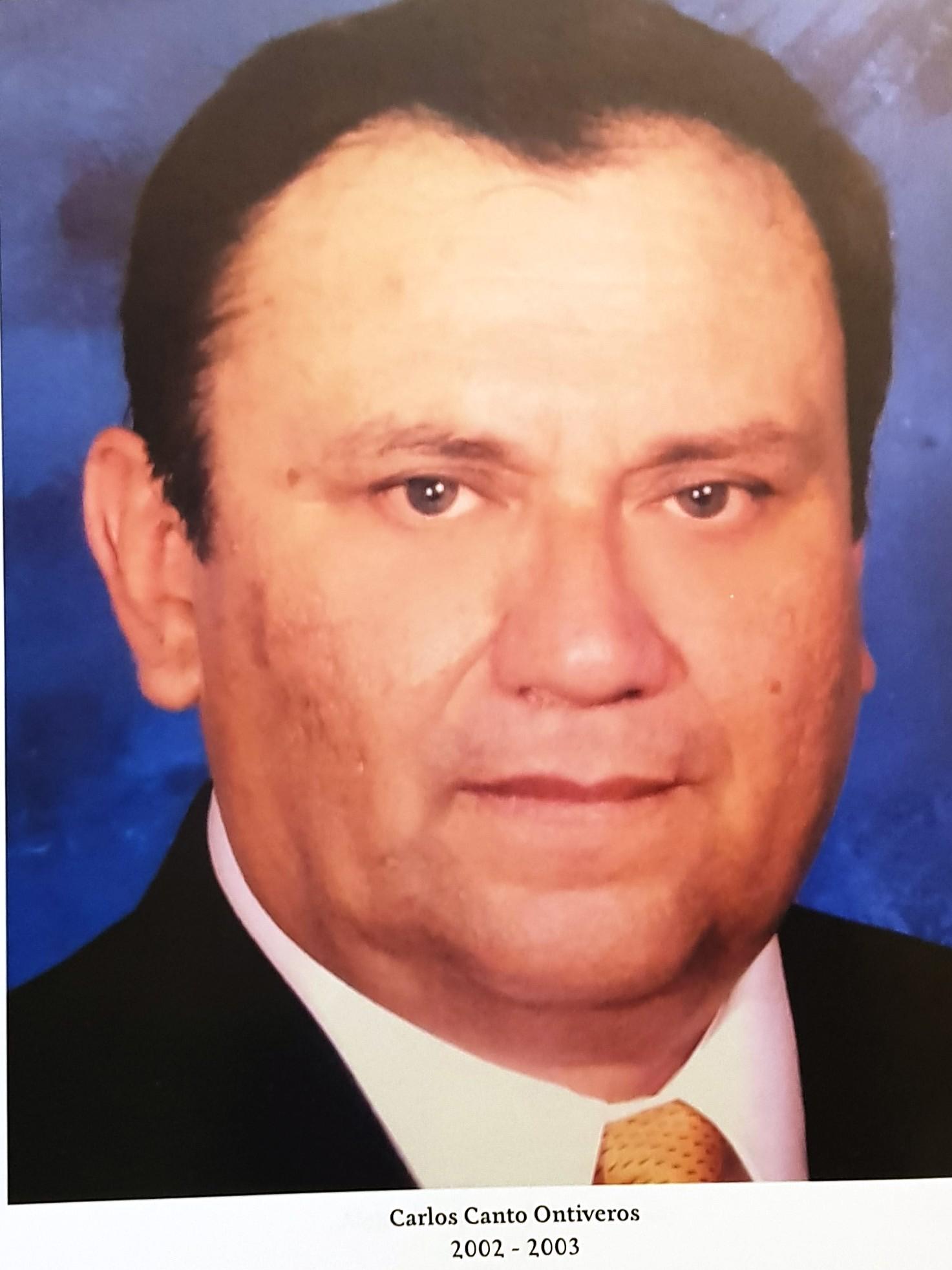 PRESIDENTE DE COPARMEX SR. CARLOS CANTO ONTIVEROS