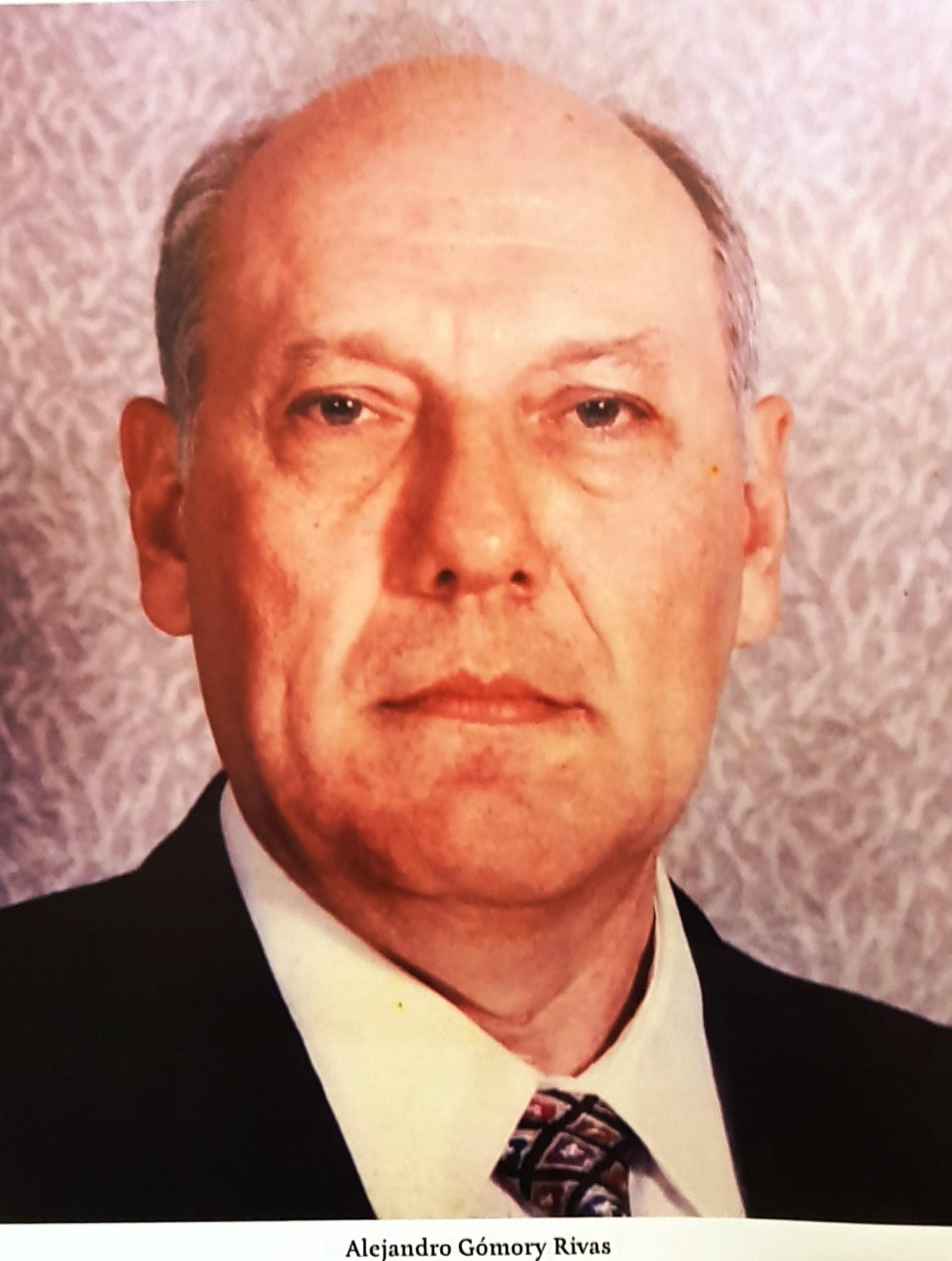 PRESIDENTE DE COPARMEX SR. ALEJANDRO GÓMORY RIVAS