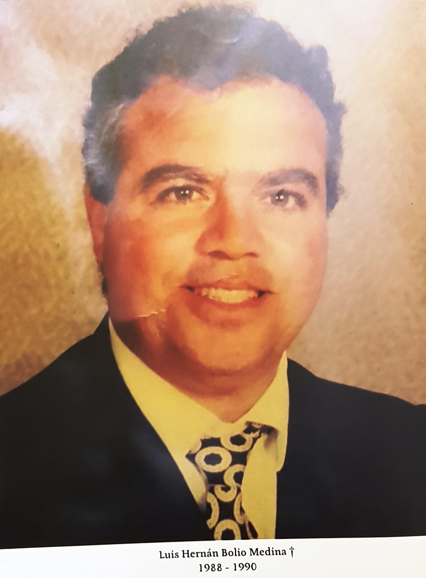 PRESIDENTE DE COPARMEX SR. LUIS HERNÁN BOLIO MEDINA