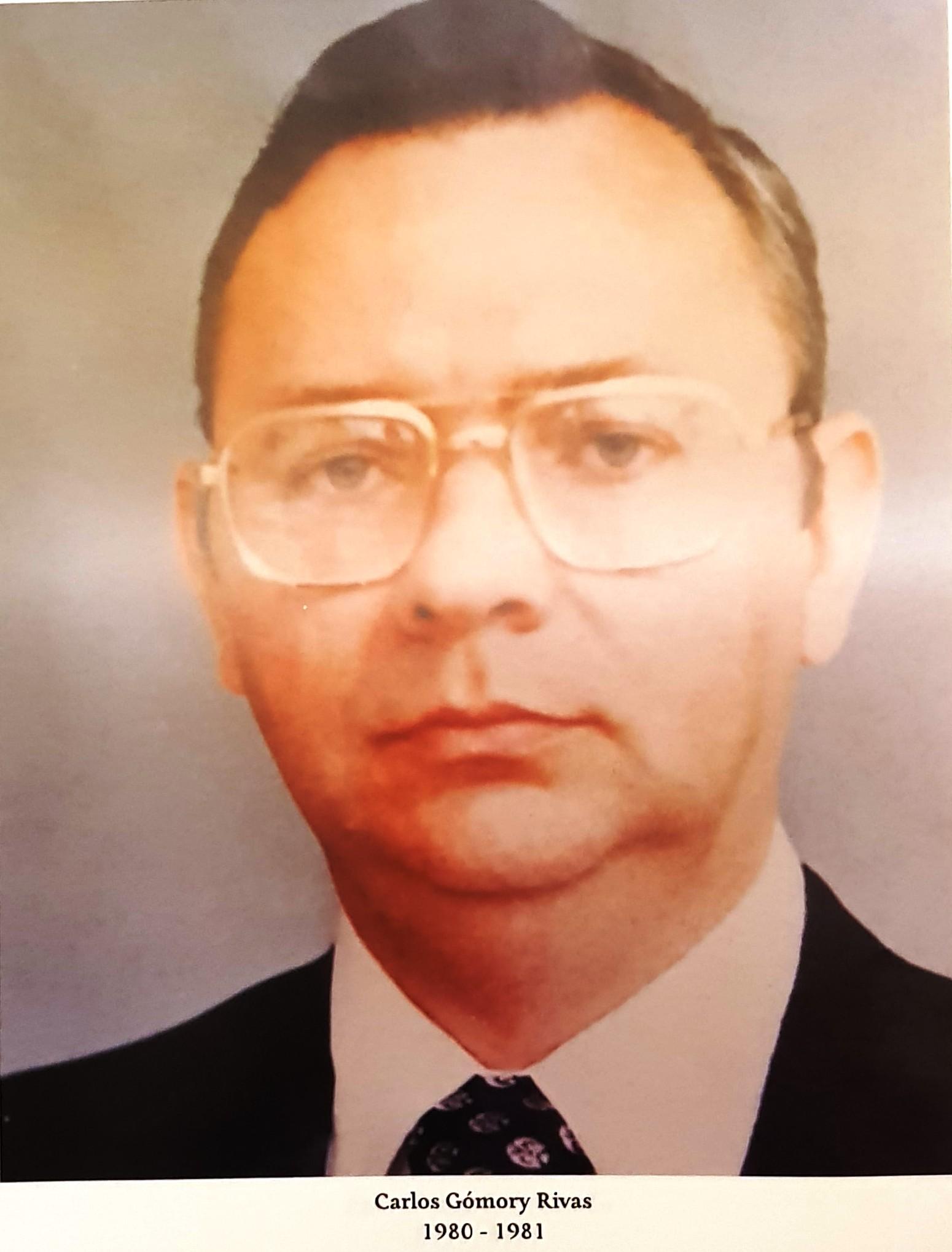 PRESIDENTE DE COPARMEX SR. CARLOS GÓMORY RIVAS