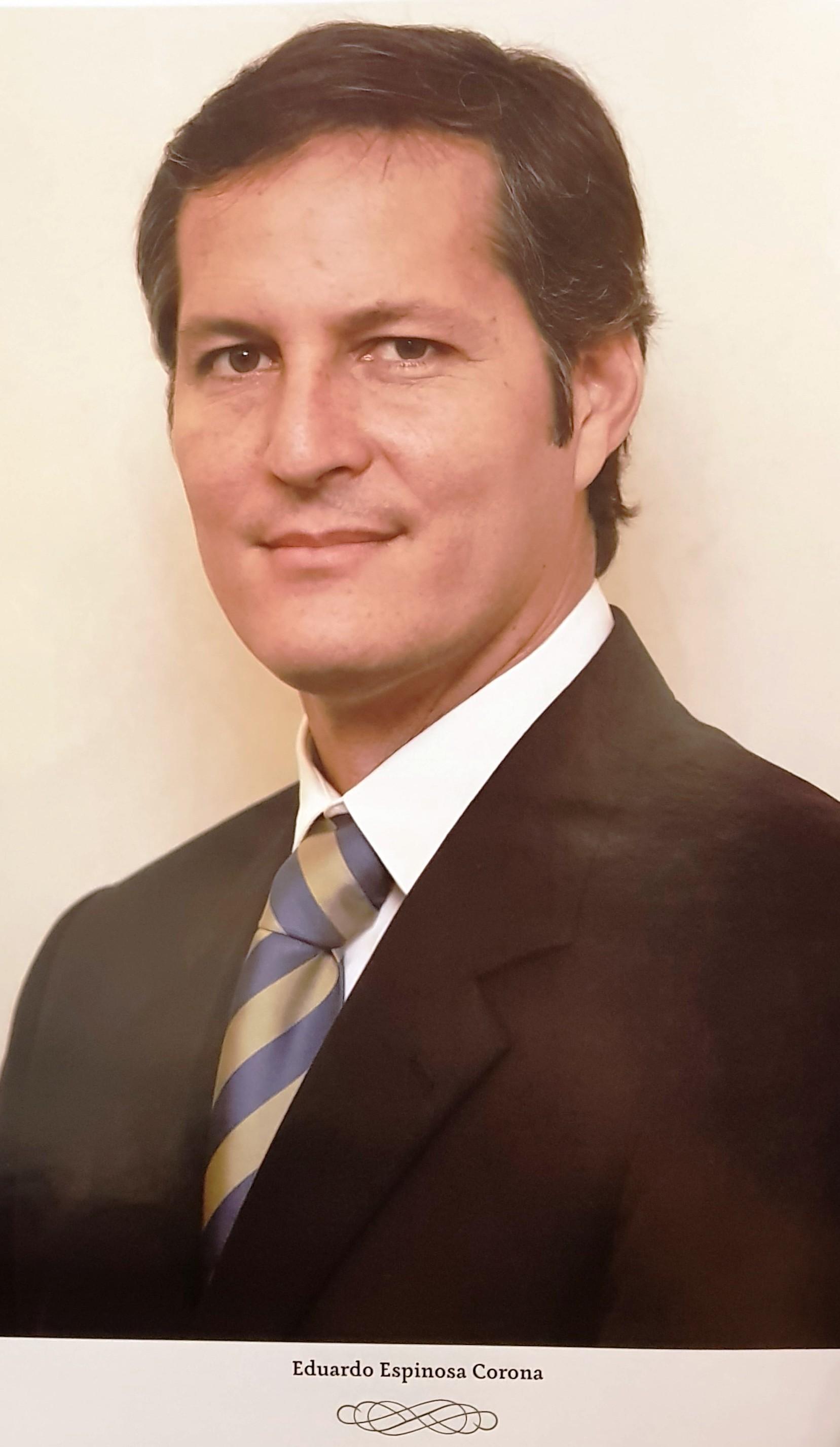 DIRECTOR DE COPARMEX MÉRIDA SR. EDUARDO ESPINOSA CORONA