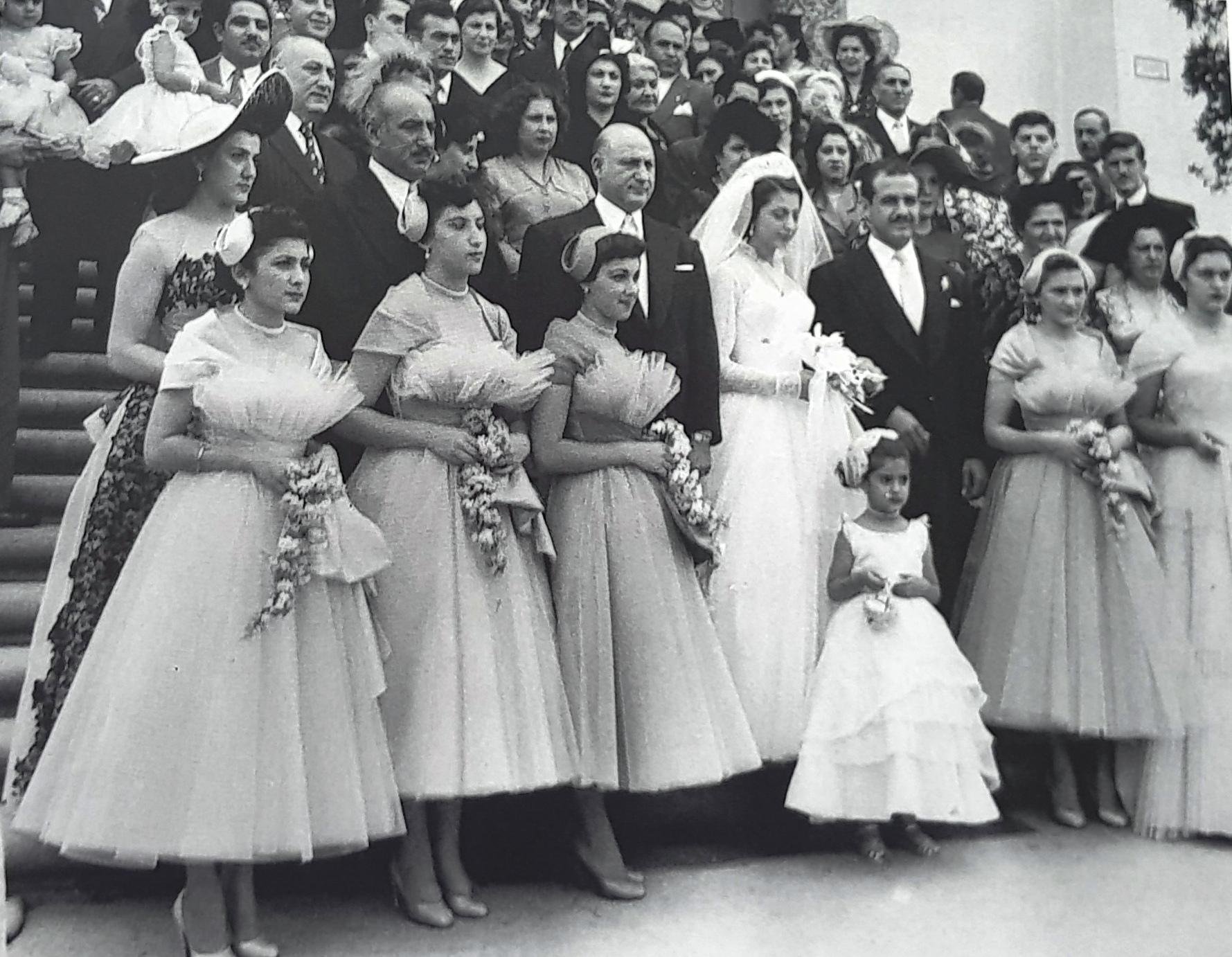 MATRIMONIO DE DON ASIS ABRAHAM DAGUER Y DOÑA FLORITA MAFUD JORGE