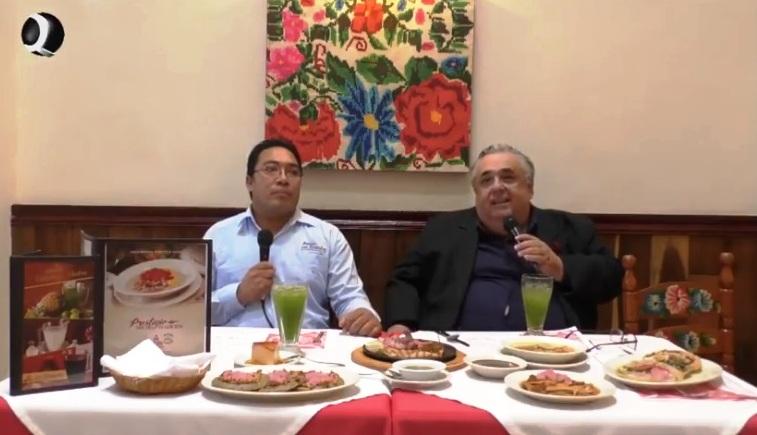 """VÍDEO DE PROGRAMA DE TELEVISIÓN EN EL RESTAURANTE """"LOS ALMENDROS"""""""
