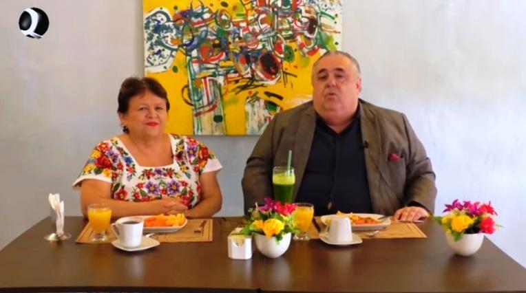 """VÍDEO DE PROGRAMA DE TELEVISIÓN EN EL RESTAURANTE """"MANJAR BLANCO"""""""