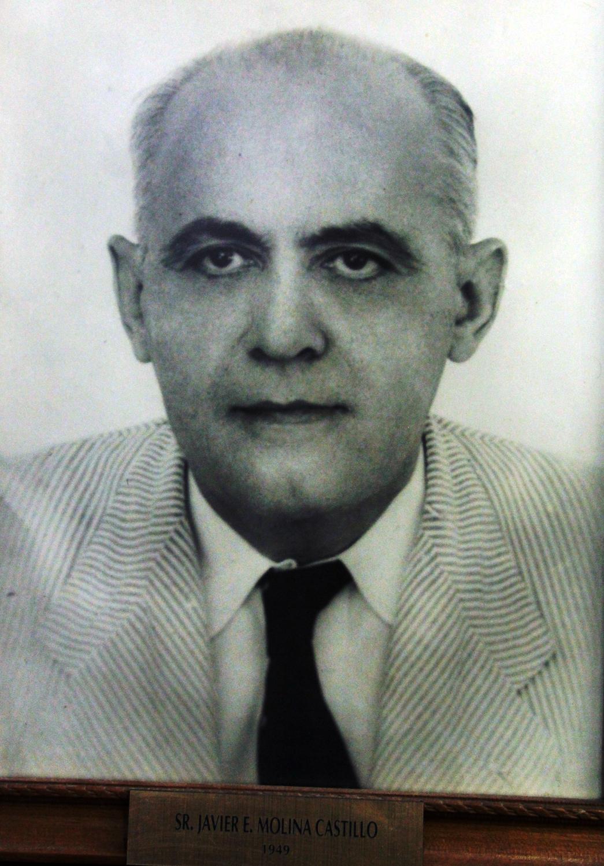 EMPRESARIO DISTINGUIDO SR. JAVIER E. MOLINA CASTILLO