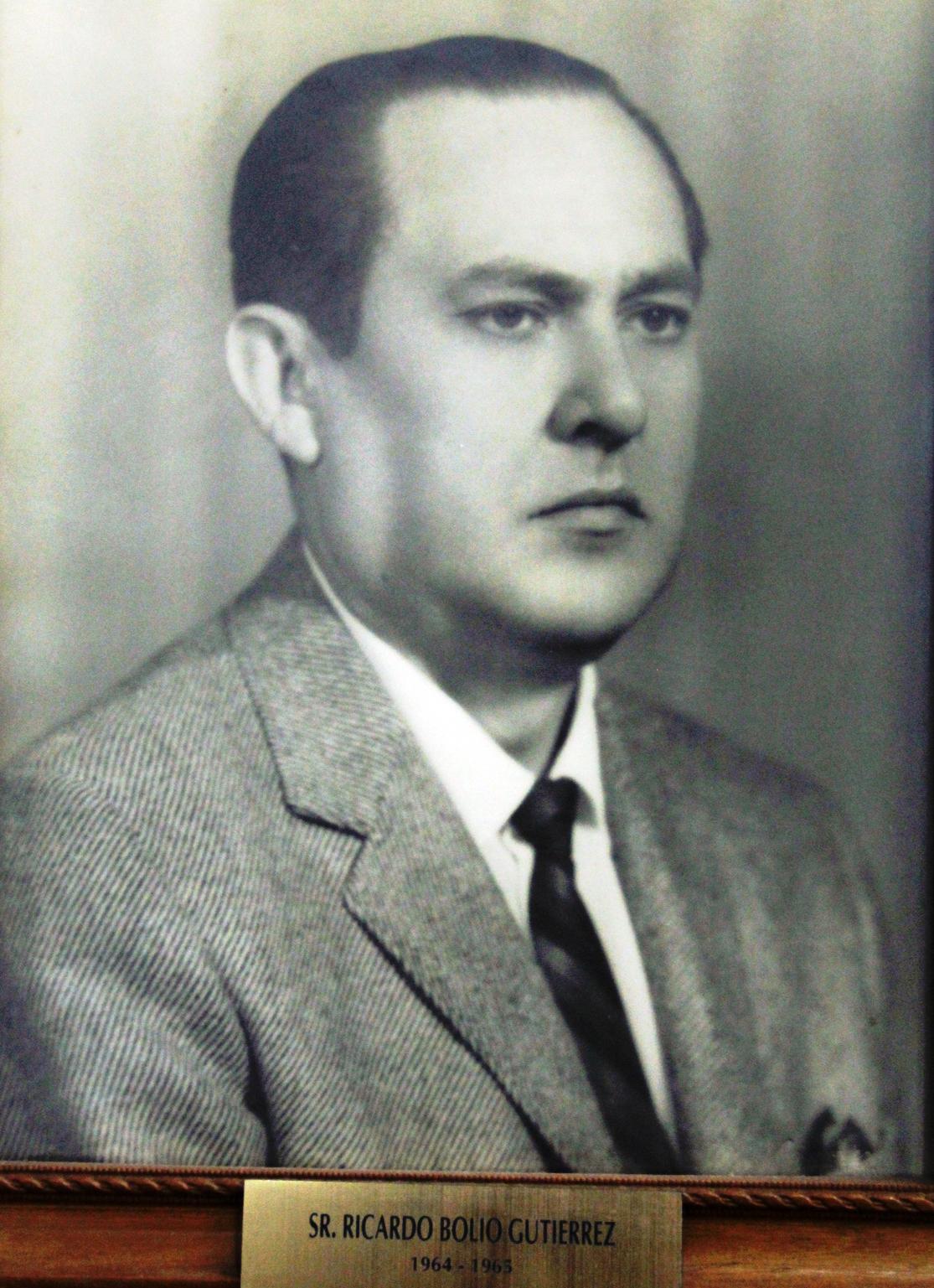 EMPRESARIO DISTINGUIDO SR. RICARDO BOLIO GUTIERREZ