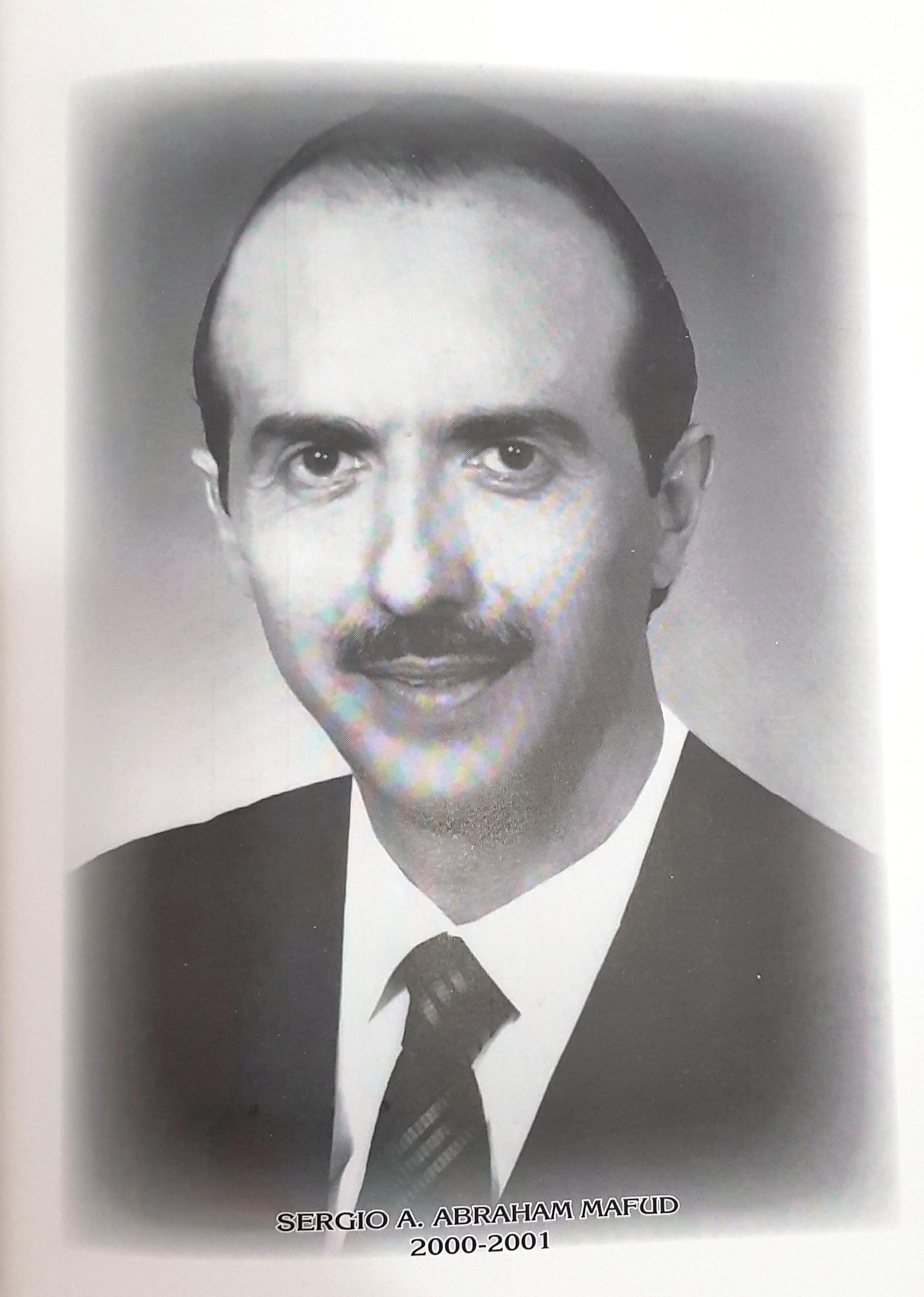 PRESIDENTE DE LA CÁMARA DE COMERCIO DE MÉRIDA SR. SERGIO  A. ABRAHAM MAFUD