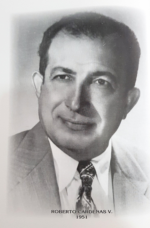 PRESIDENTE DE LA CÁMARA DE COMERCIO DE MÉRIDA SR. ROBERTO CÁRDENAS V.
