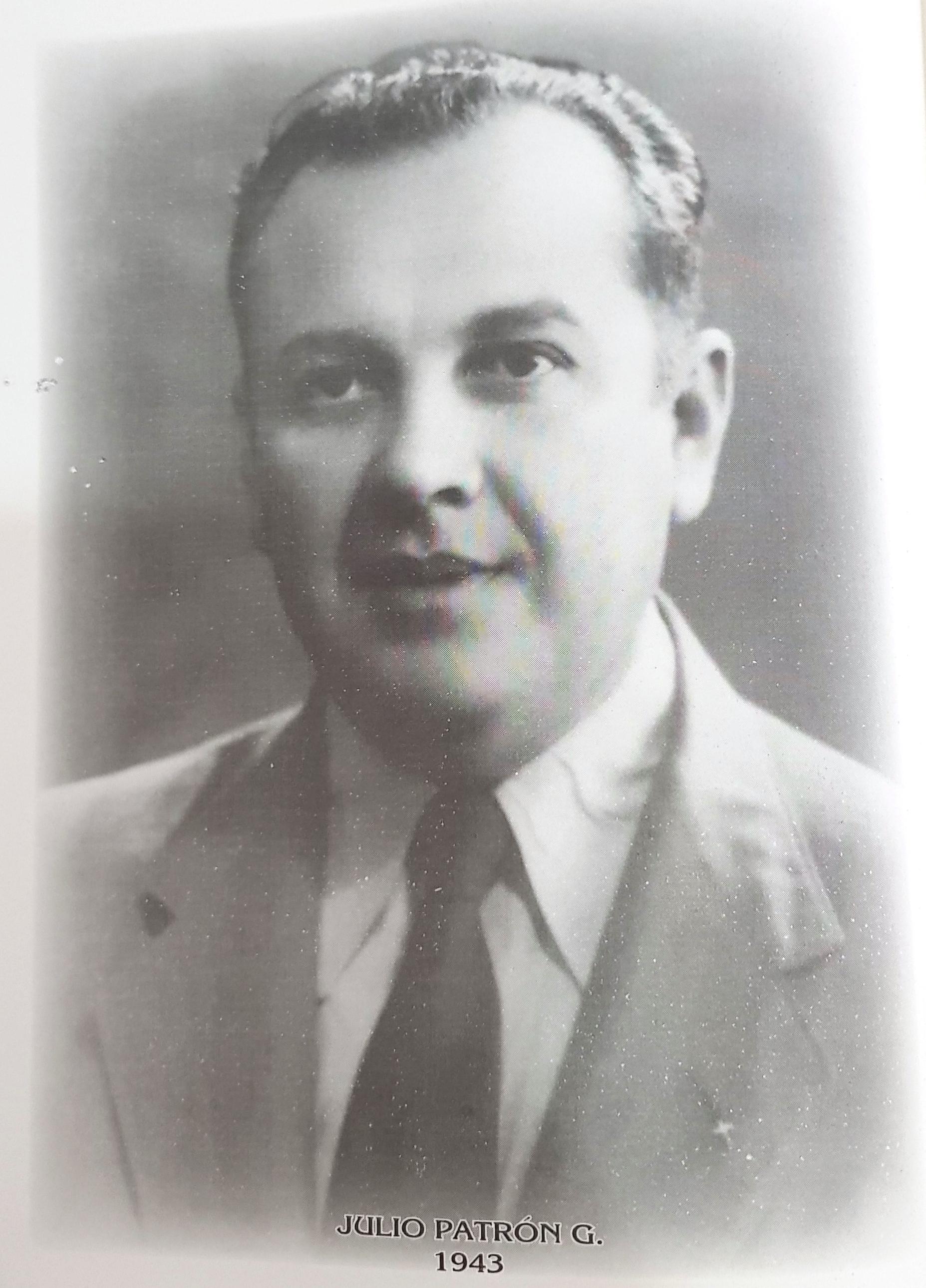 PRESIDENTE DE LA CÁMARA DE COMERCIO DE MÉRIDA SR. JULIO PATRÓN G.