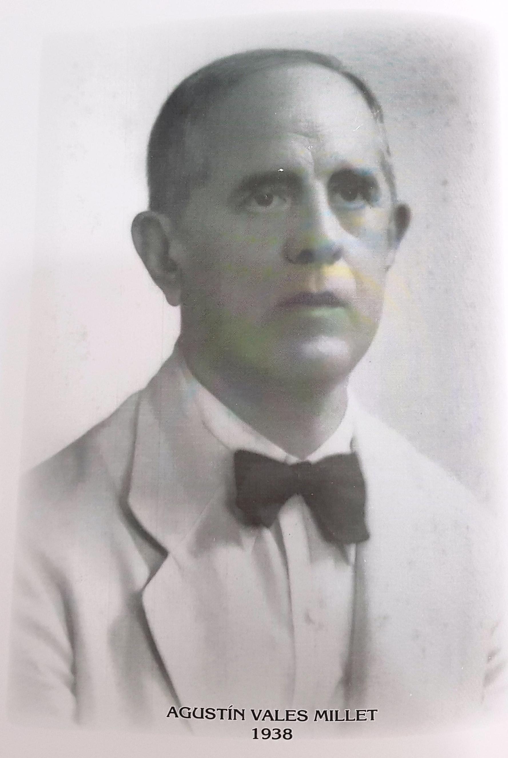 PRESIDENTE DE LA CÁMARA DE COMERCIO DE MÉRIDA SR. AGUSTIN VALES MILLET