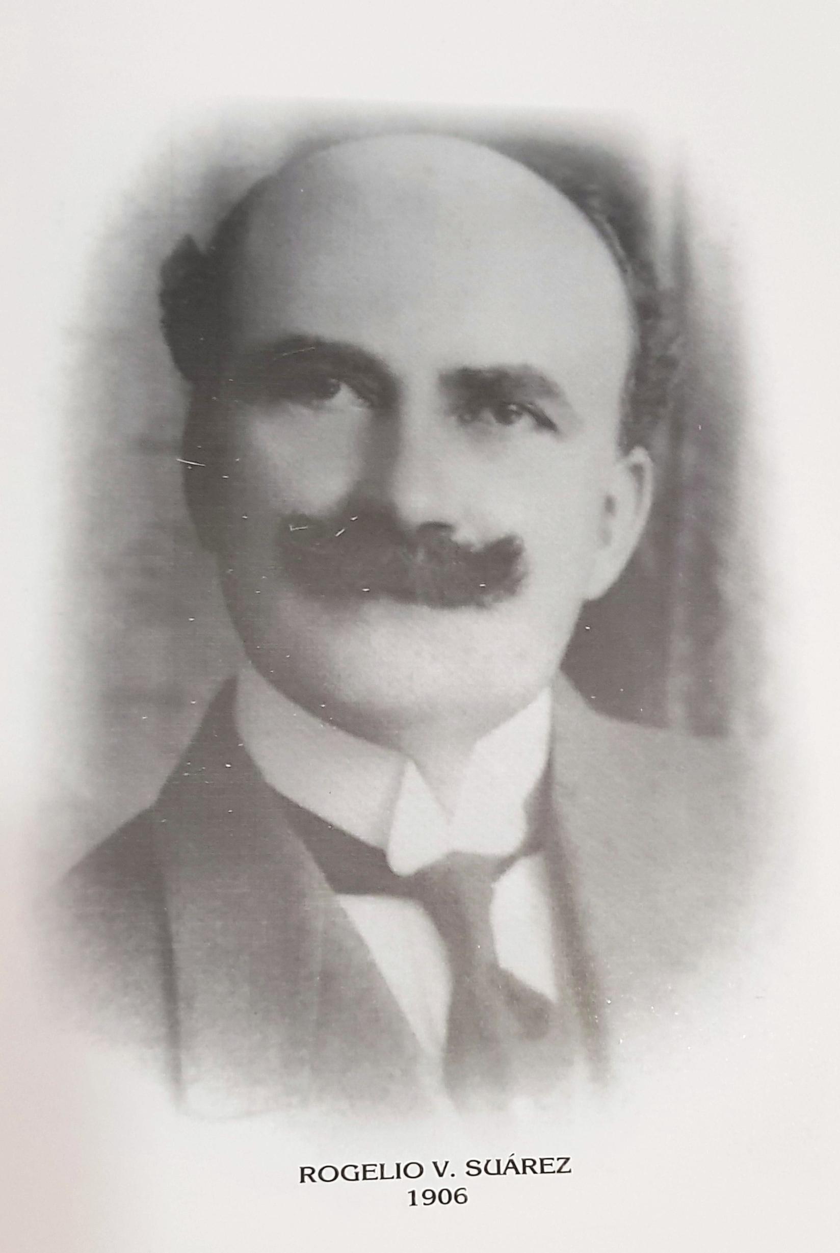 PRESIDENTE DE LA CÁMARA DE COMERCIO DE MÉRIDA SR. ROGELIO V. SUAREZ