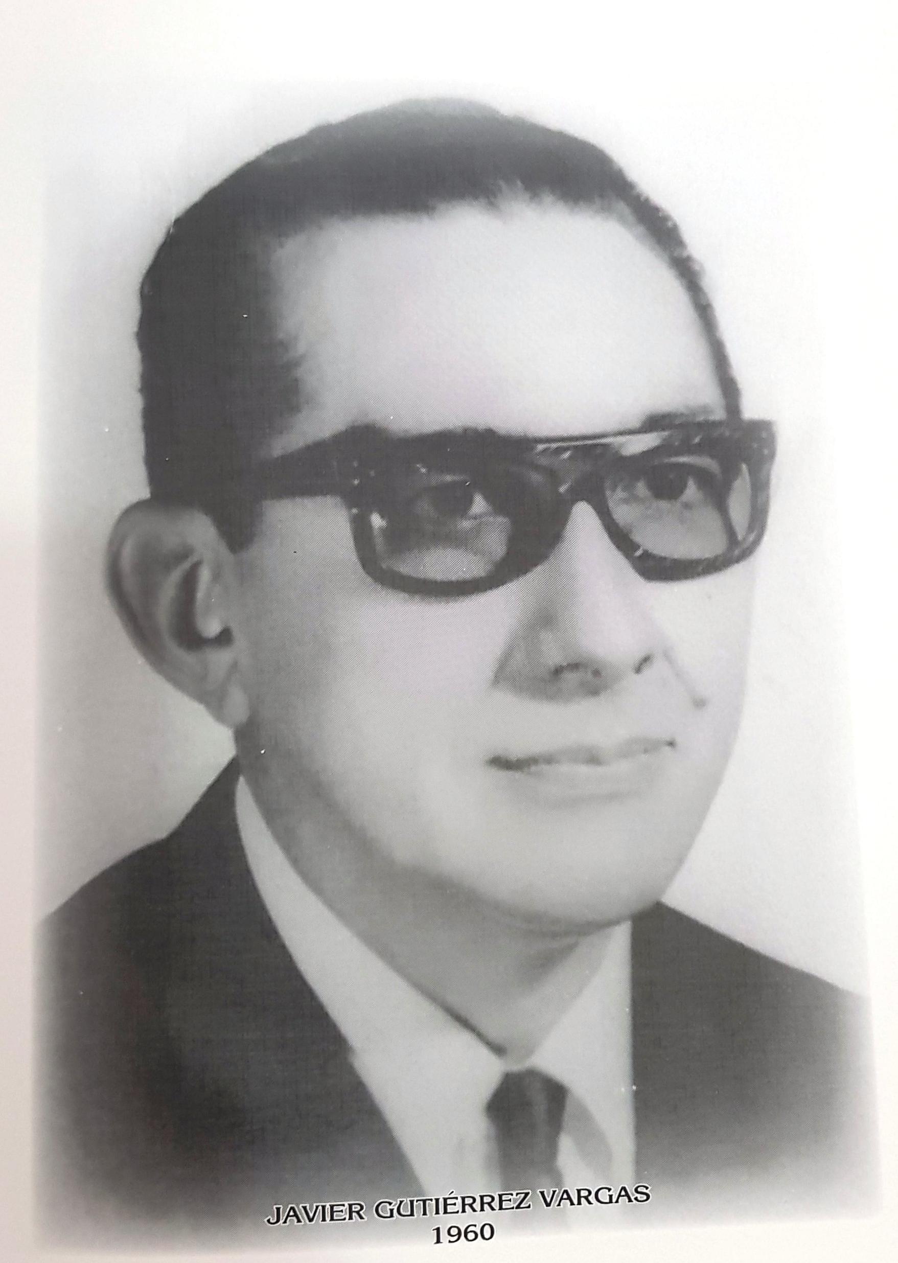 PRESIDENTE DE LA CÁMARA DE COMERCIO DE MÉRIDA SR. JAVIER GUTIERREZ VARGAS