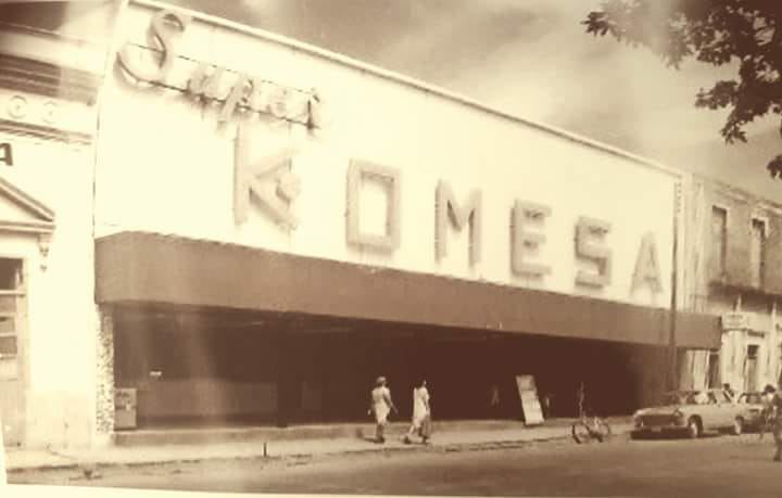 KOMESA, PRIMER SUPERMERCADO DE MÉRIDA