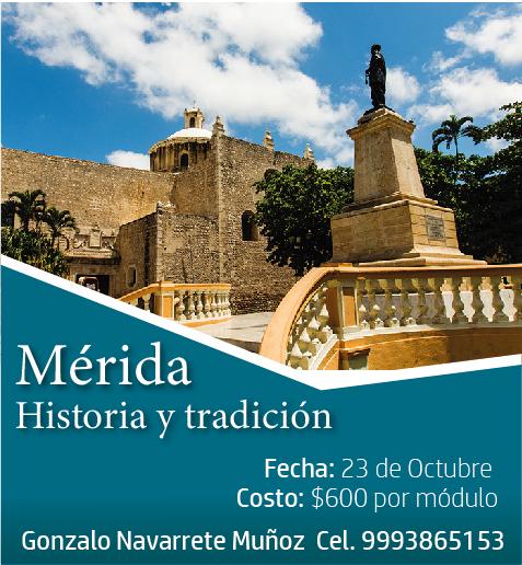 """CURSO""""MÉRIDA, HISTORIA Y TRADICIÓN"""""""