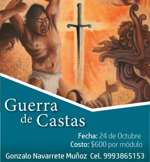 """CURSO """"GUERRA DE CASTAS"""""""