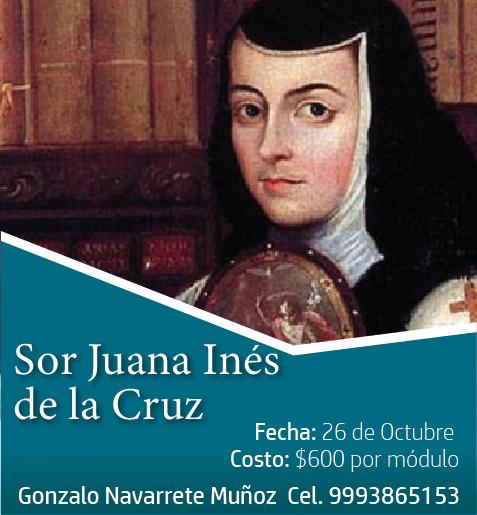 """CURSO """"SOR JUANA INÉS DE LA CRUZ"""""""
