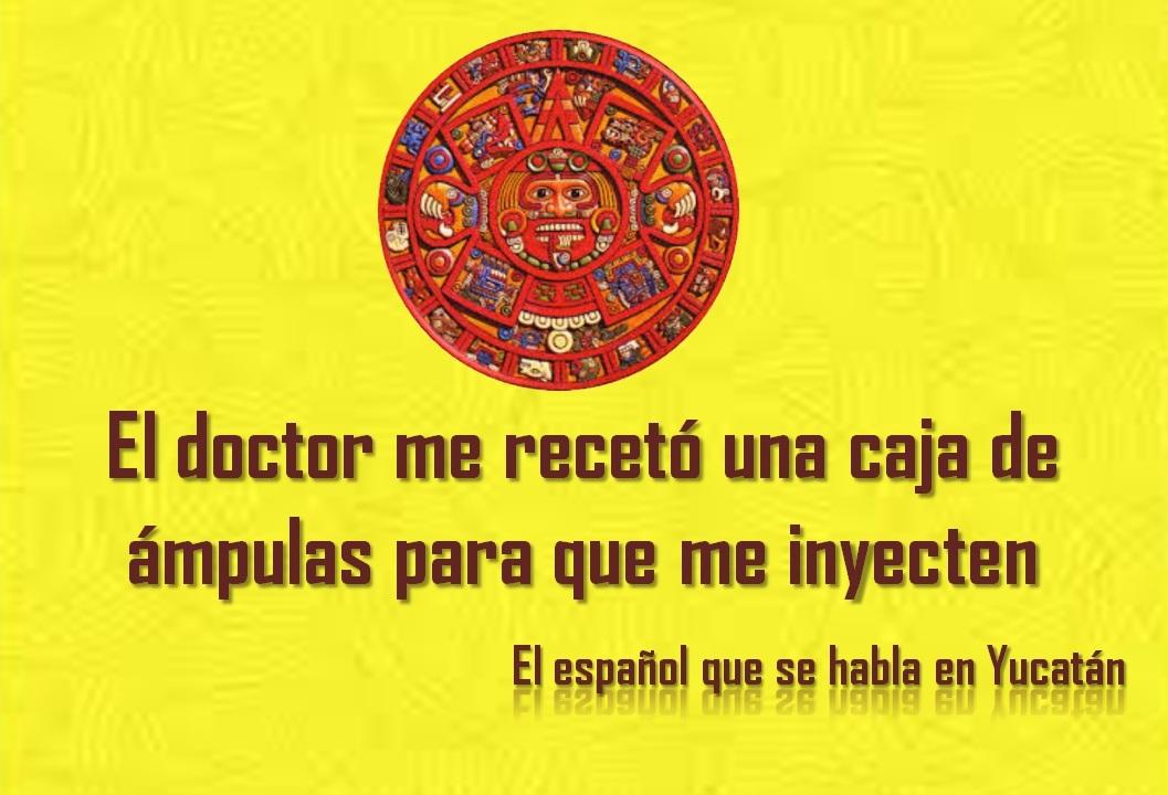 EL DOCTOR ME RECETÓ UNA CAJA DE ÁMPULAS PARA QUE ME INYECTEN