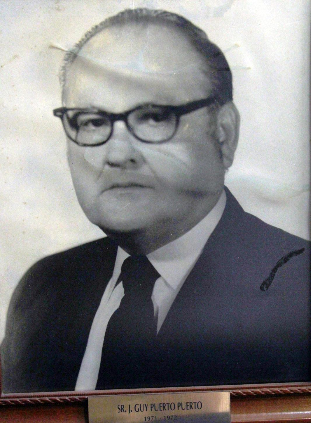 EMPRESARIO DISTINGUIDO SR. J. GUY PUERTO PUERTO