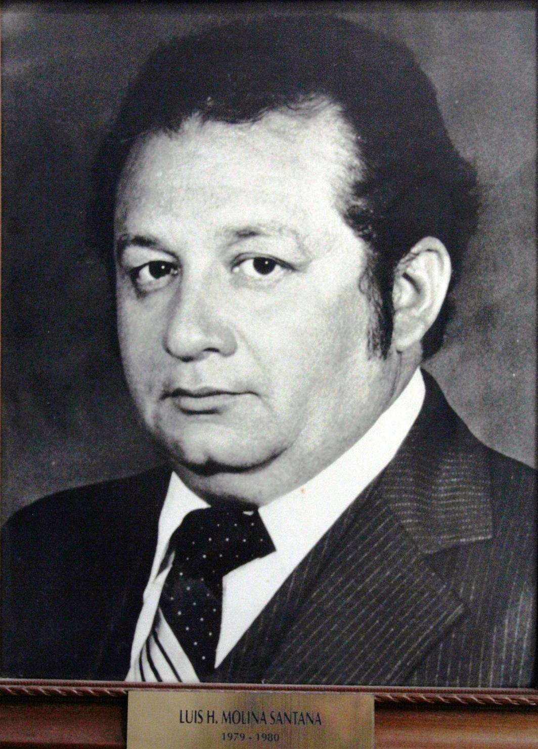 EMPRESARIO DISTINGUIDO SR. LUIS H. MOLINA SANTANA