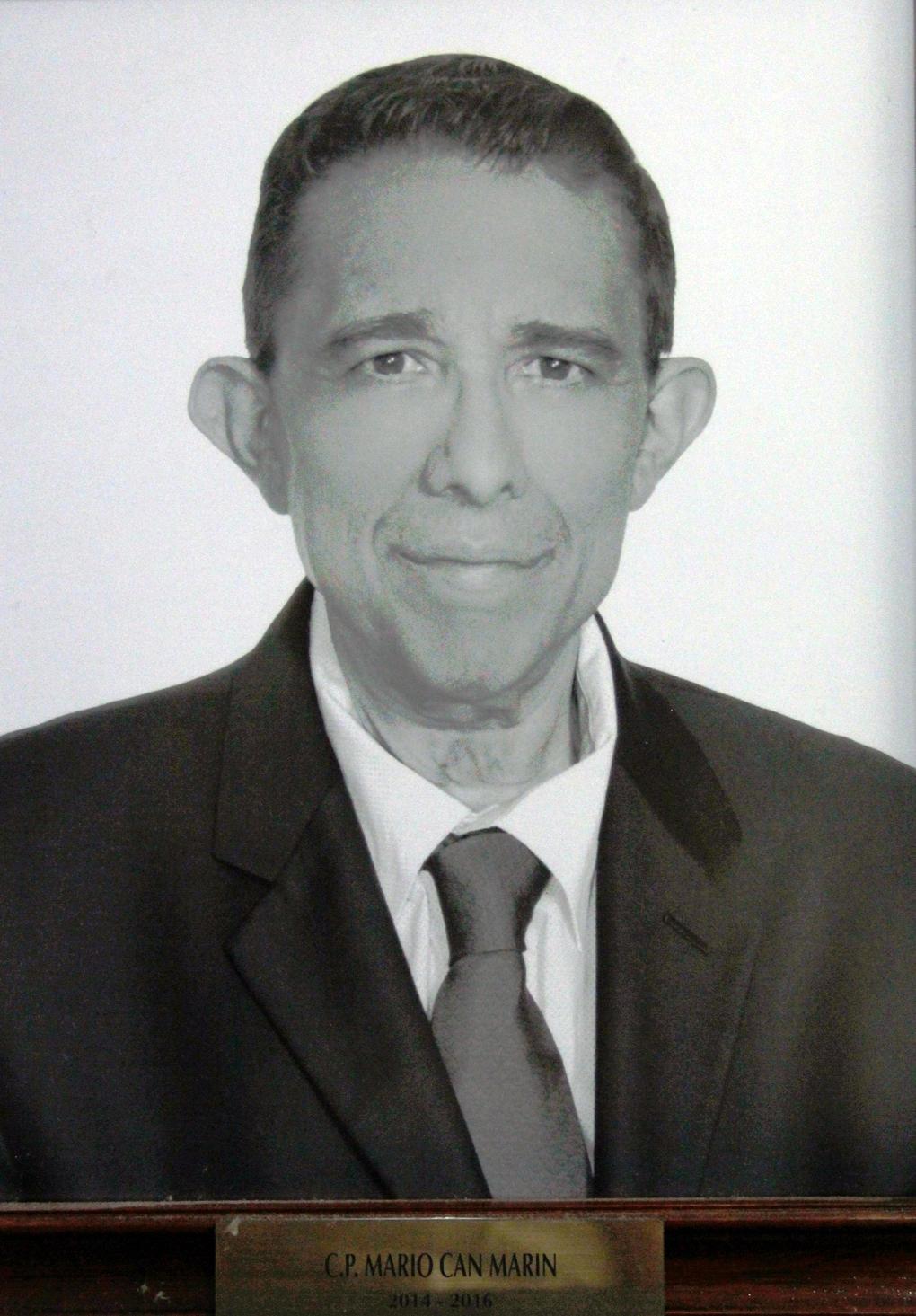 EMPRESARIO DISTINGUIDO C.P. MARIO CAN MARIN
