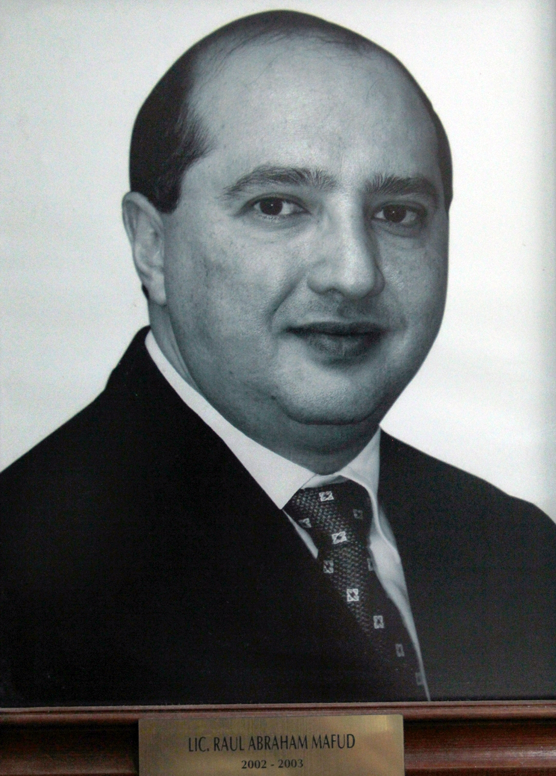 EMPRESARIO DISTINGUIDO LIC. RAUL ABRAHAM MAFUD