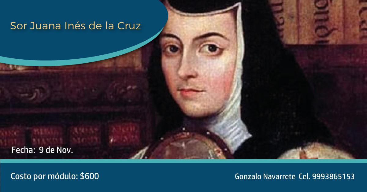 Cursos: Sor Juana Inés de la Cruz